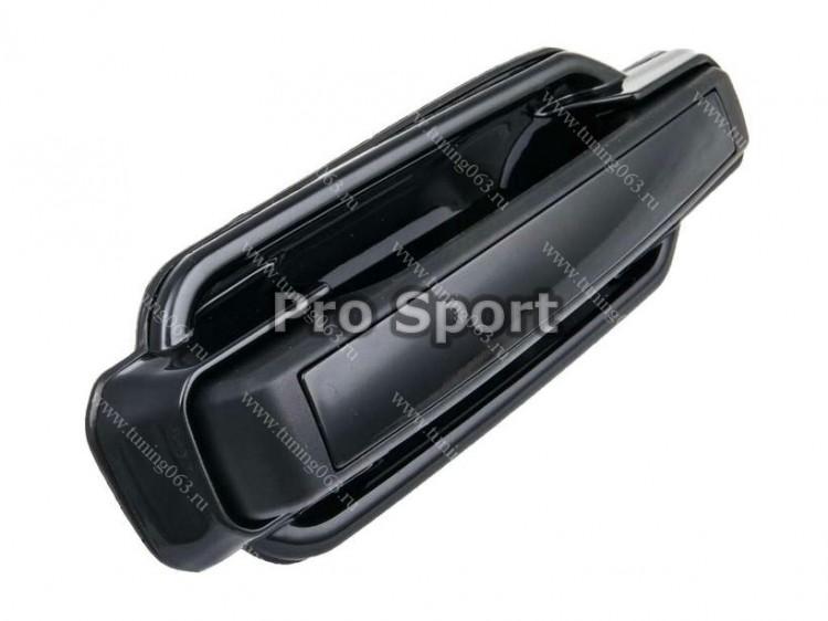 Черные дверные ручки ваз 2107