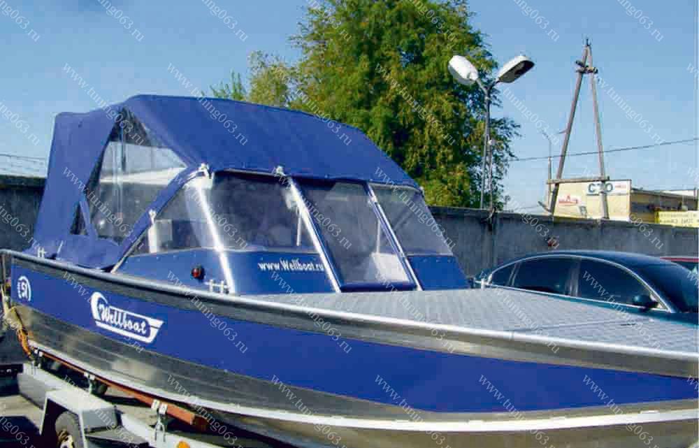тент на лодку самара
